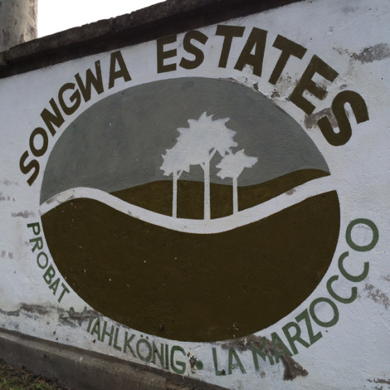 Songwa Estates Sign