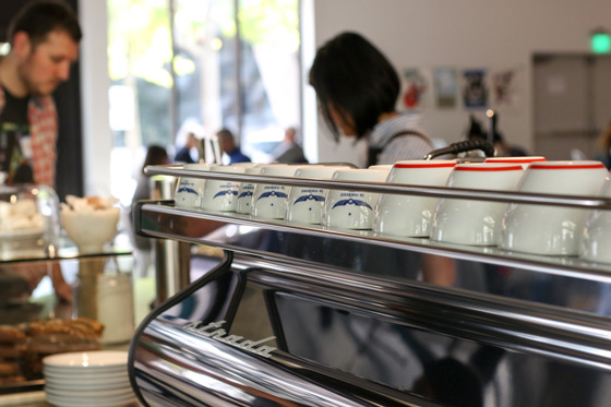 Intelligentsia at La Marzocco Cafe